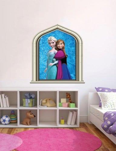 frozen wall sticker window