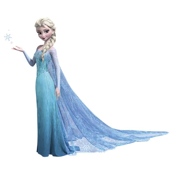 Elsa wall Sticker large