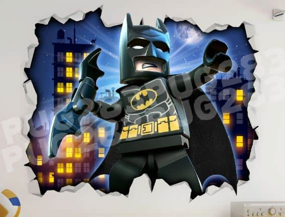 batman wall stickers wall art kids