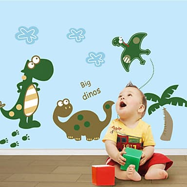 cute dino wall stickers