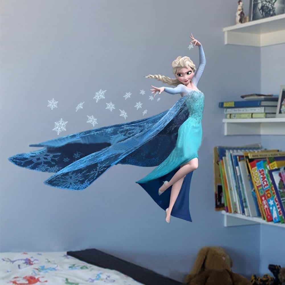 frozen wall sticker elsa wall sticker