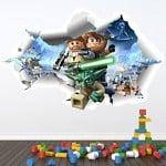 lego star wars wall sticker