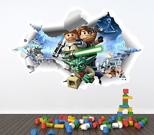 Merveilleux Lego Star Wars Wall Sticker