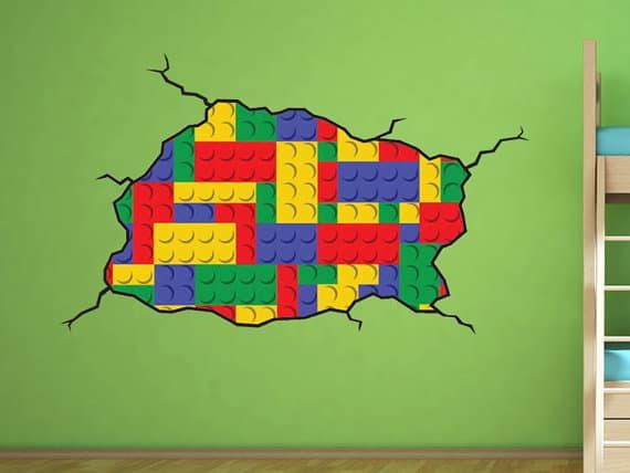 lego wall sticker