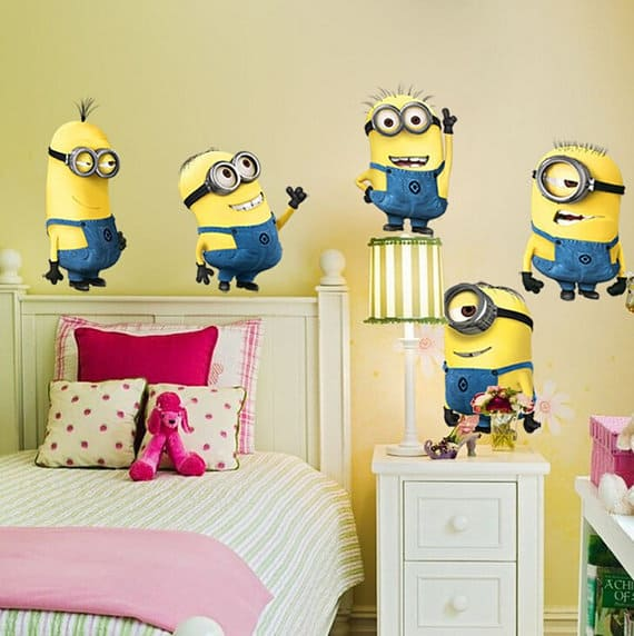 minons wall sticker