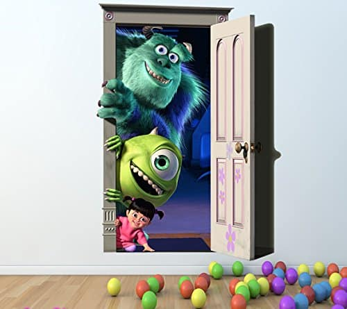 monsters inc wall sticker