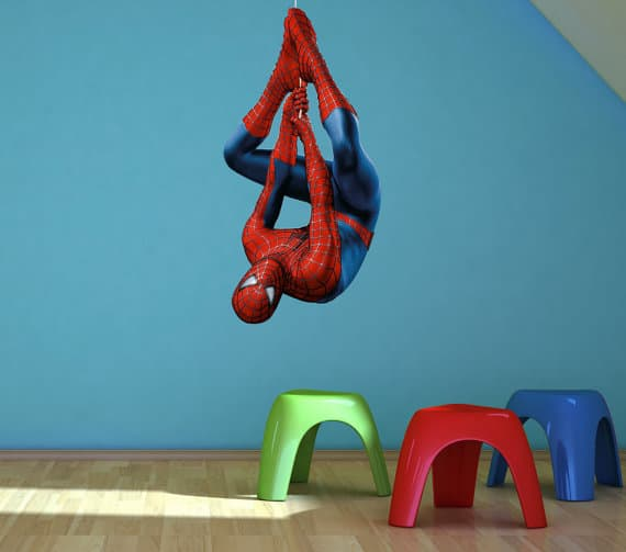 Nice Spiderman Wall Sticker
