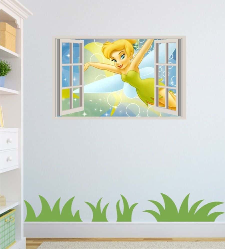 tinkerbell wall sticker