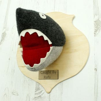 SHARK animal head Fauxidermy For Kids Rooms!