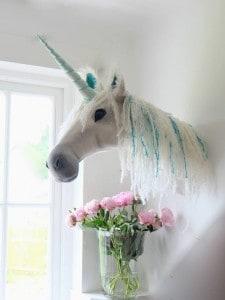 unicorn wall head