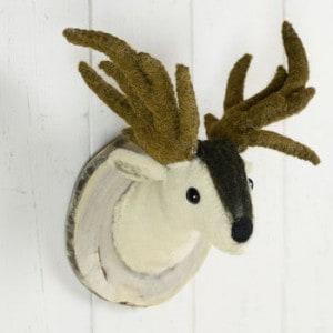 deer wall head