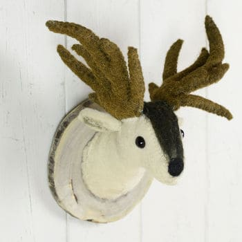 Fauxidermy Deer Head For Kids Room!