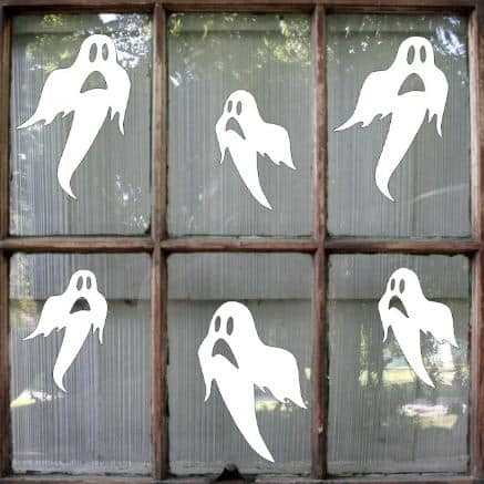 ghost window stickers