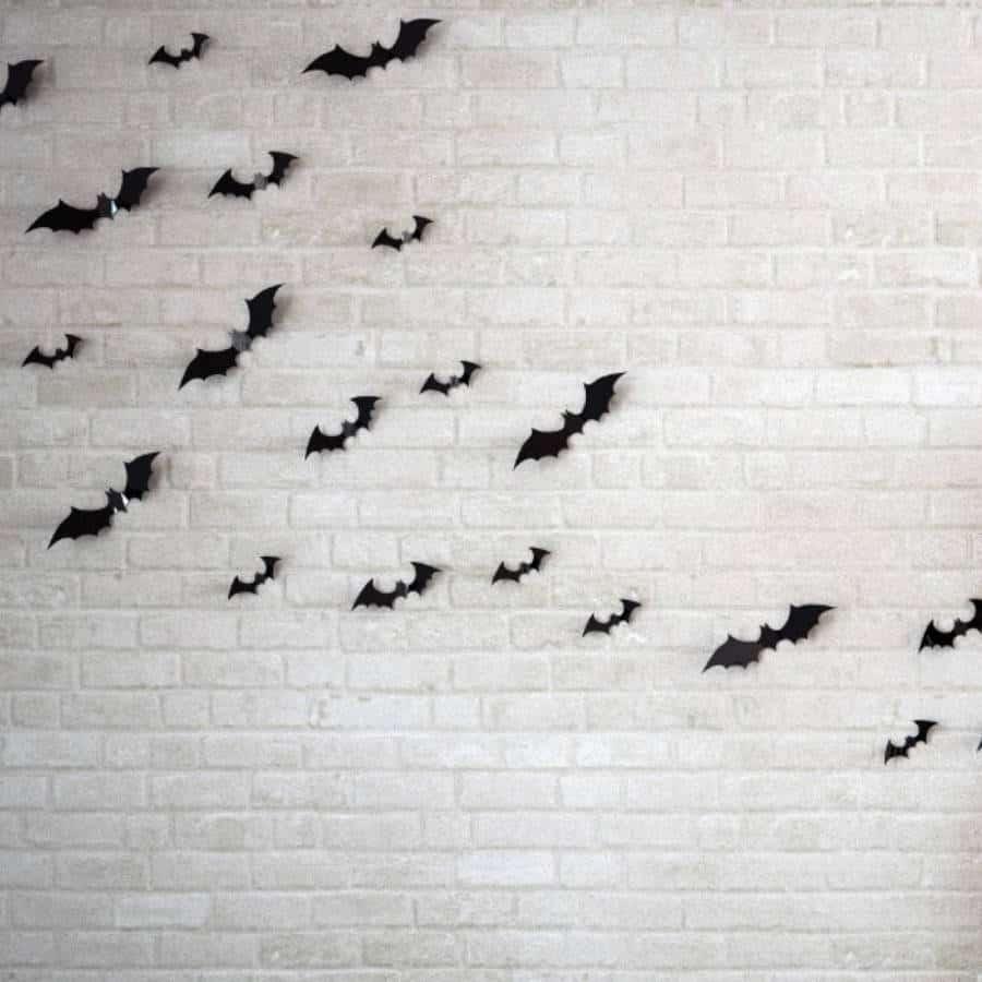 halloween wall art bats bat halloween seasonal wall art stickers halloween wall bat decal