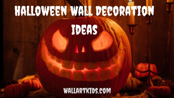 Halloween wall decoration ideas