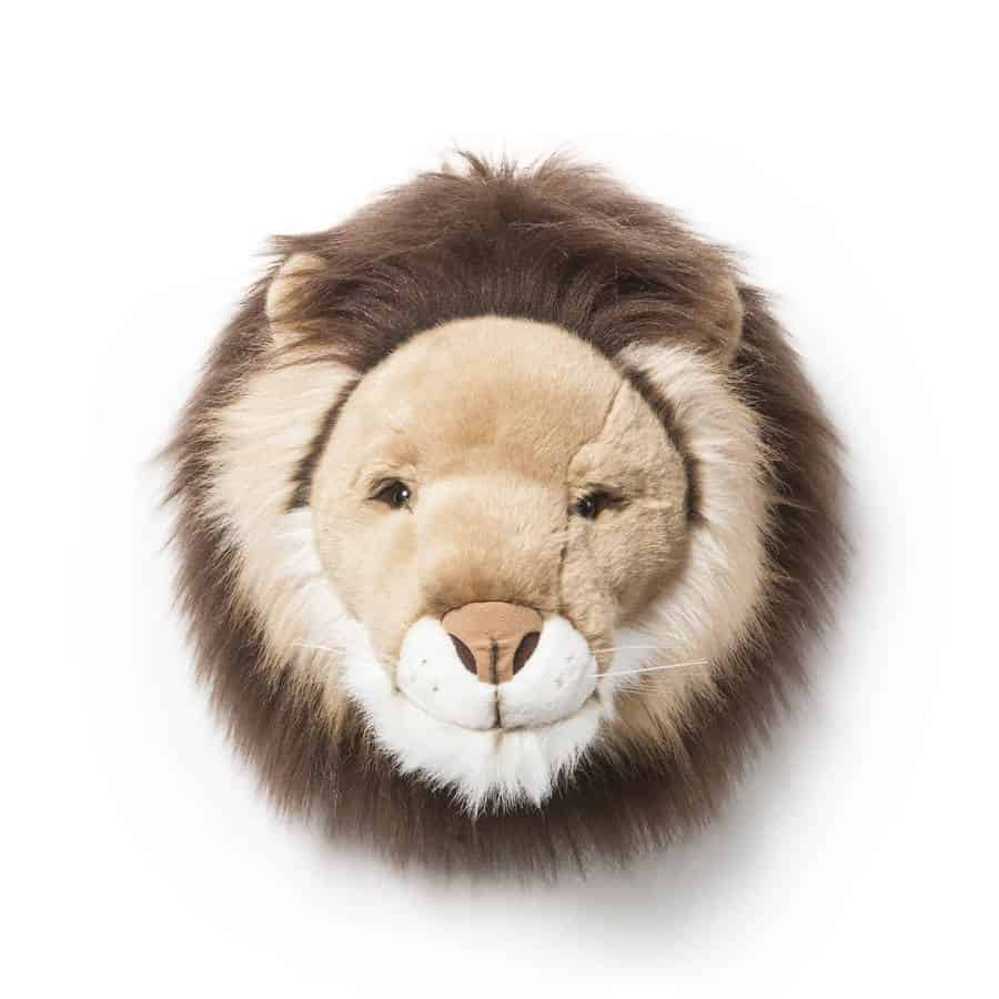 Fauxidermy Lion Head For Kids Room!
