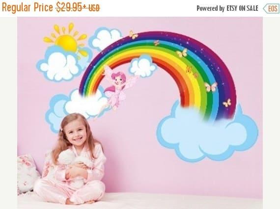 rainbow lovely sticker
