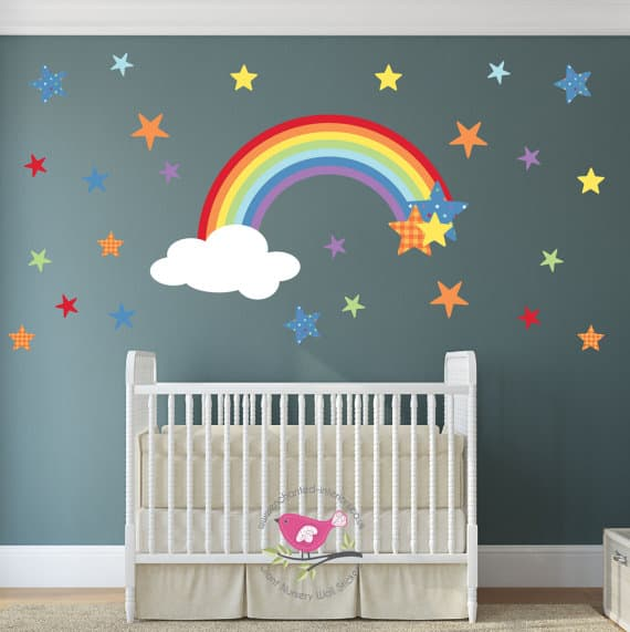 Rainbow Wall Sticker1