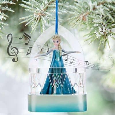 Elsa singing christmas decoration
