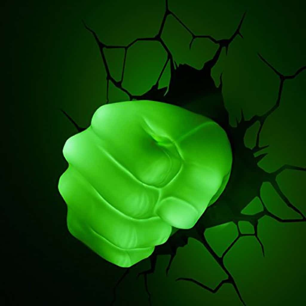 marvel Hulk 3D wall light Night Light