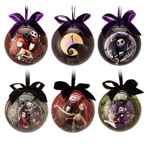 Nightmare before Chirstmas decorations