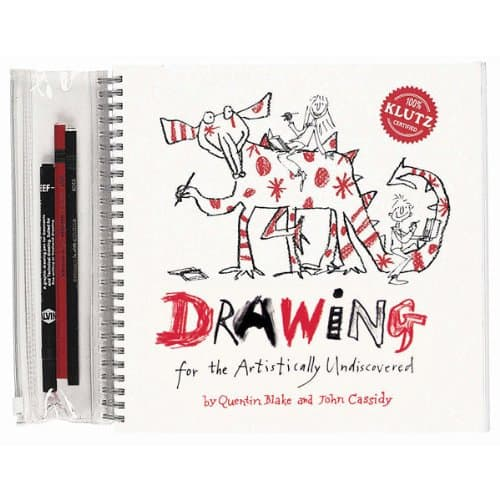 Quentin Blake drawing book