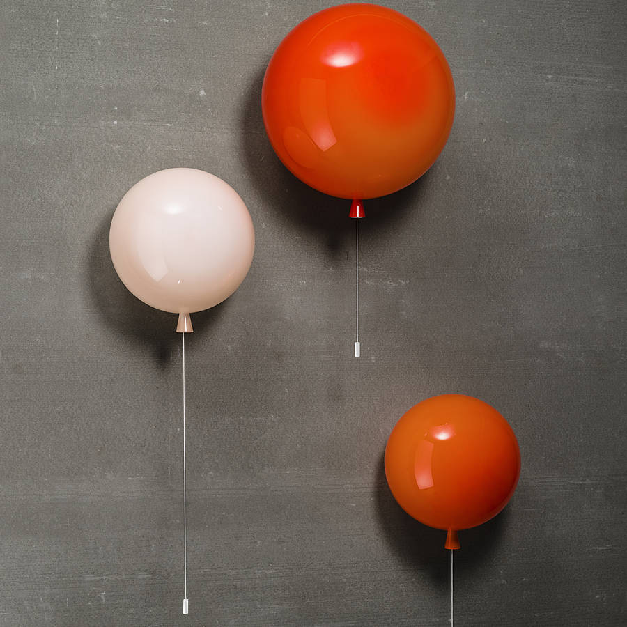 Kids wall lights my top 10 wall art kids memory balloon wall light aloadofball Image collections