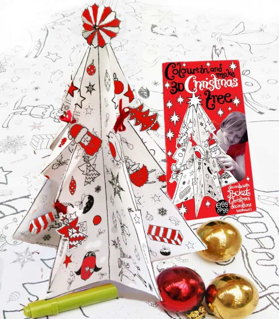 colouring in 3D tree