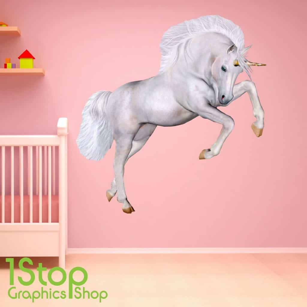 large unicorn wall sticker