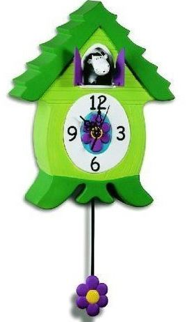 Cuckoo Clock, Cow character, wall clock