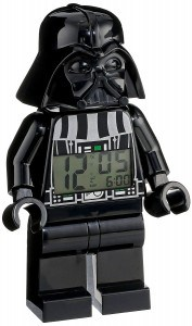 Darth vader mini figure clock