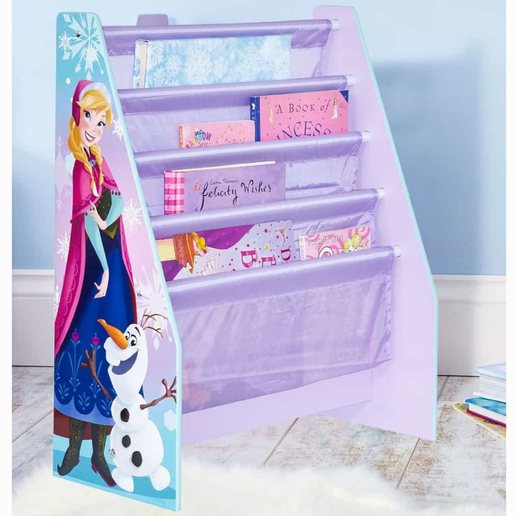 Frozen bookcase