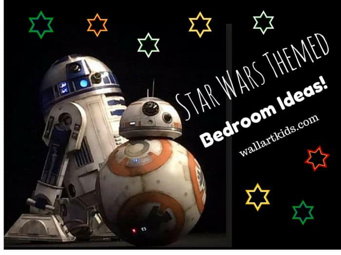 Star Wars Themed Bedroom Ideas - Wall Art Kids