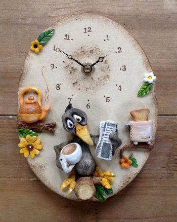 blackbird wall clock kids