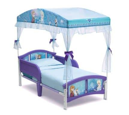 frozen canopy bed