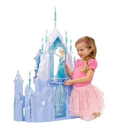 frozen disney playset castle