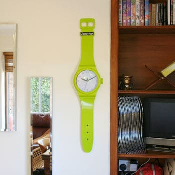 large watch wall clock