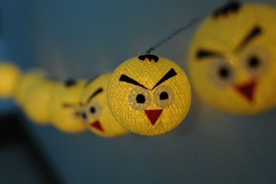 angry birds string lights