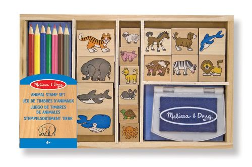 Animal stamp set melissa & doug