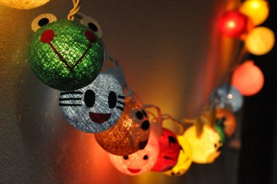 animal string lights
