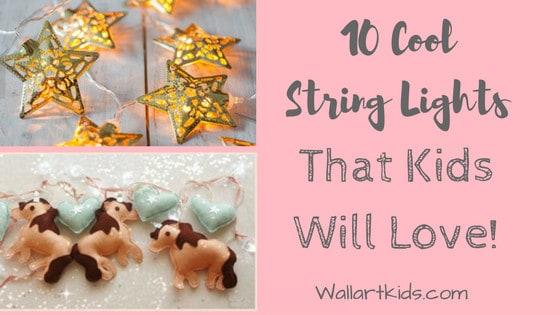 cool string lights for kids