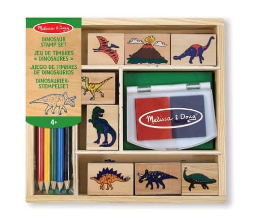 dinosaur stamp set melissa & doug