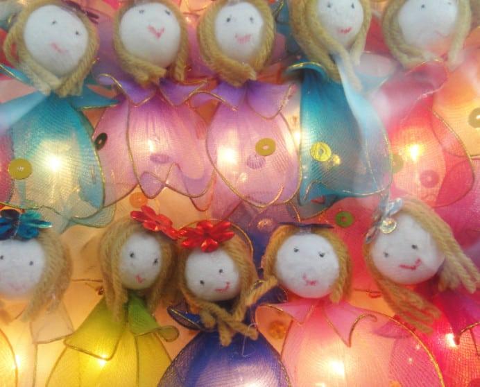 fairy lights angel lights