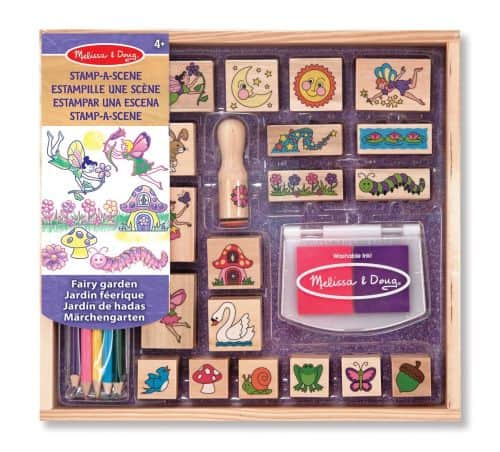 fairy stamp set melissa & doug