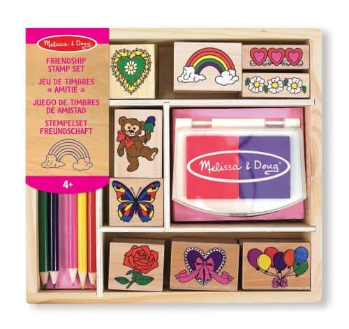 friendship stamp set melissa & doug