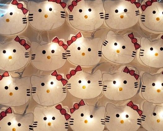 hello kitty wall lights