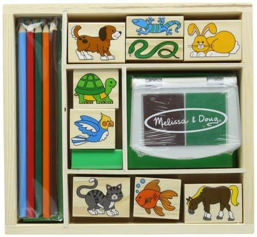 pet stamping set melissa & doug