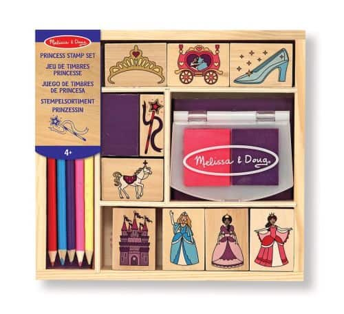 princess stamp set melissa & doug
