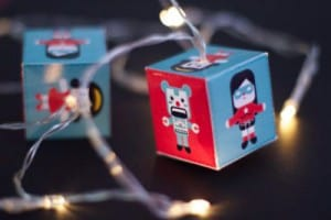 robot string lights
