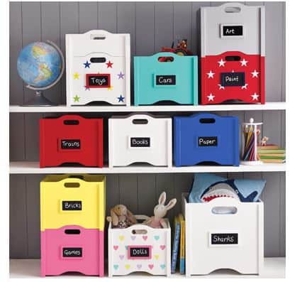 toy storage stacking boxes